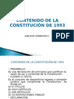 Contenido de La Constitucion de 1993