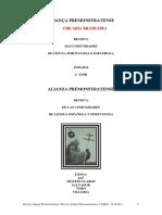 Aliança Premonstratense Atual - 2014 i