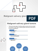 malignant salivary glands tumors