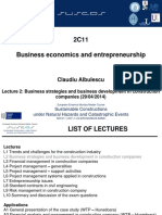 L2 2C11_Business Strategies and Business Development in Construction Companies