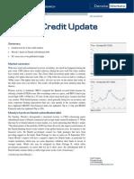 JUL 23 Danske Research Weekly Credit Update
