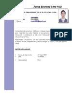 CV - Mg. Jorge Sato