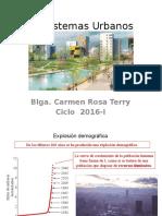 Ecosistemas Urbanos Clase 2016 I