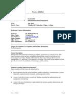 UT Dallas Syllabus for ba4324.501.10f taught by Michael Savoie (msavoie)