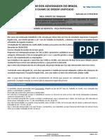 2ª FASE OAB XVIII PROVA RESOLVIDA - Direito Do Trabalho