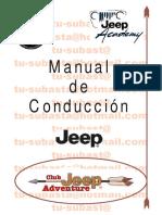 Manual Con Ducci on Jeep