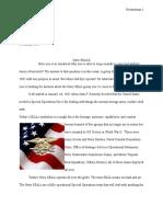 Navy Seal Report