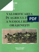 Valorificarea in Agricultura a Namolurilor Orasenesti