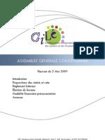 ASSEMBLEE-GENERALE-CONSTITUANTE du 03 MAI 2009