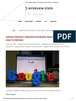 Google Product Manager Interview_ What to Expect and How to Prepare – InterviewSteps