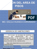gestion del area de pisos