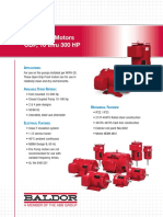 FL441 Fire Pump Motors