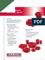 FL441 Fire Pump Motors