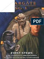 AEG2213 Stargate SG-1 - First Steps (Book5)