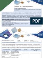 Guía de Actividades y Rúbrica de Evaluación - Fase 1. Conocimientos Previos