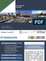 Índice de Calidad de Vida Urbana (ICVU), CChC 2017