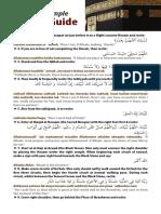 Simple Umrah Guide 2013