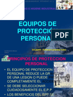 Curso Principios Factores Cuidado Uso Tipos Equipos Proteccion Personal Epp