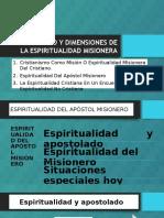 Significado y Dimensiones de La Espiritualidad Misionera