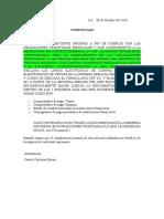 Carta Solicitud de Documentos Empresas