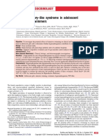 Polycystic Ovary Like Syndrome in Adolescent Competitive Swimmers 2011 Fertility and Sterility