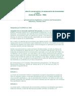 Carta Internacional Sobre La Conservación y La Restauración de Monumentos y Sitios