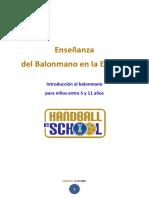 BALONMANO EN LA ESCUELA.pdf