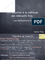 Formulation Variationnelle