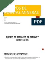 CLASE N°1 Equipos de plantas mineras