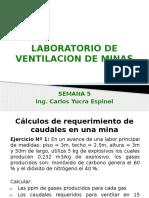 Laboratorio de Ventilacion de Minas