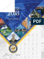 City of Houston FY2018 Proposed Budget