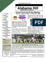 20 Jul 10 Newsletter