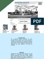 Analisis Urbano Con Cambios de Wilson