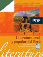 Literatura oral Y popular del Perú