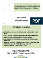 Analisis Konsumsi Pangan Berbasis Pph
