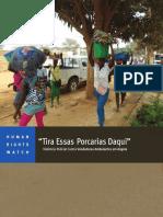 Violência Policial Contra Vendedores Ambulantes Em Angola