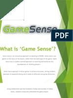 game sense powerpoint