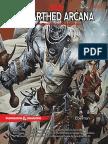 D&D 5E - Unearthed Arcana - Eberron