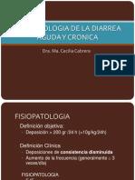 Clase 5 DIARREA AGUDA Y CRONICADra Maria Cecilia Cabrera Cabrejos