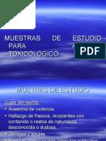 Toxicologia Foense- Hallazgo en El Lugar Del Hecho
