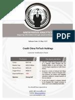 Credit China Two