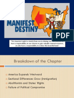 15 Manifest Destiny