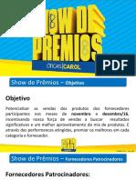 Show de Prêmios - Regulamento (Resumo) - V_01.11 - RevA01