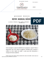 Kefir_ Manual Básico - Temperando