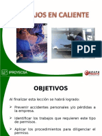 IPROYECSA - Seguridad de Trabajo en Caliente