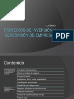 Sem-01 Proyectos de Inversión y Generación de Empresas
