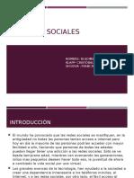 Las Redes Sociales Trabajo Lenguaje
