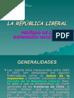 La República Liberal (Período Expansión Nacional)