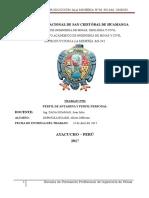 Perfil de Antamina y Perfil Personal - Copia
