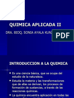 UTIC- QUIMICA APLICADA I 1º CLASE